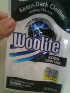 Woolite Extra Dark Package