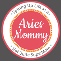 Aries Mommy button