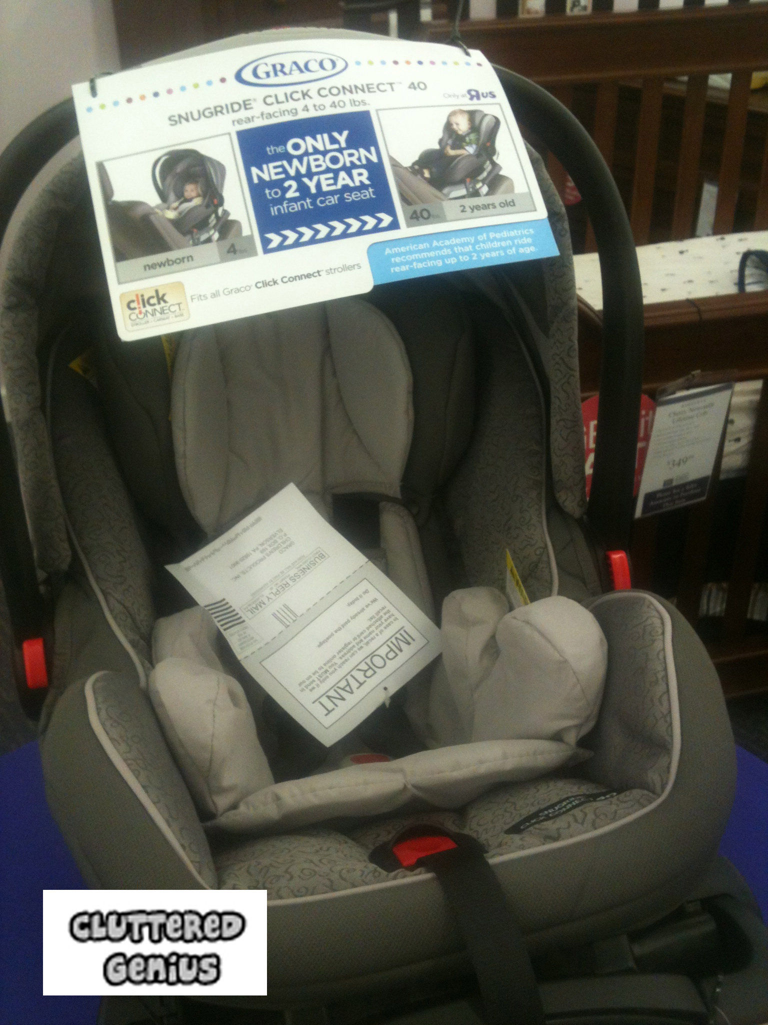 Graco Car Seat The SnugRide Click Connect 40