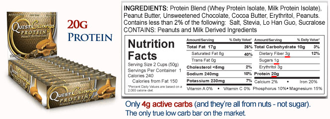 Courtesy of Quest Nutrition