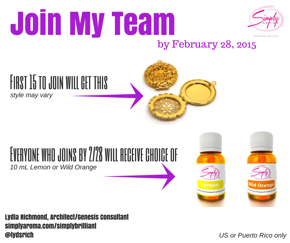 Simply Aroma FREE Special Enrollment Kit