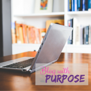 Blog with purpose social