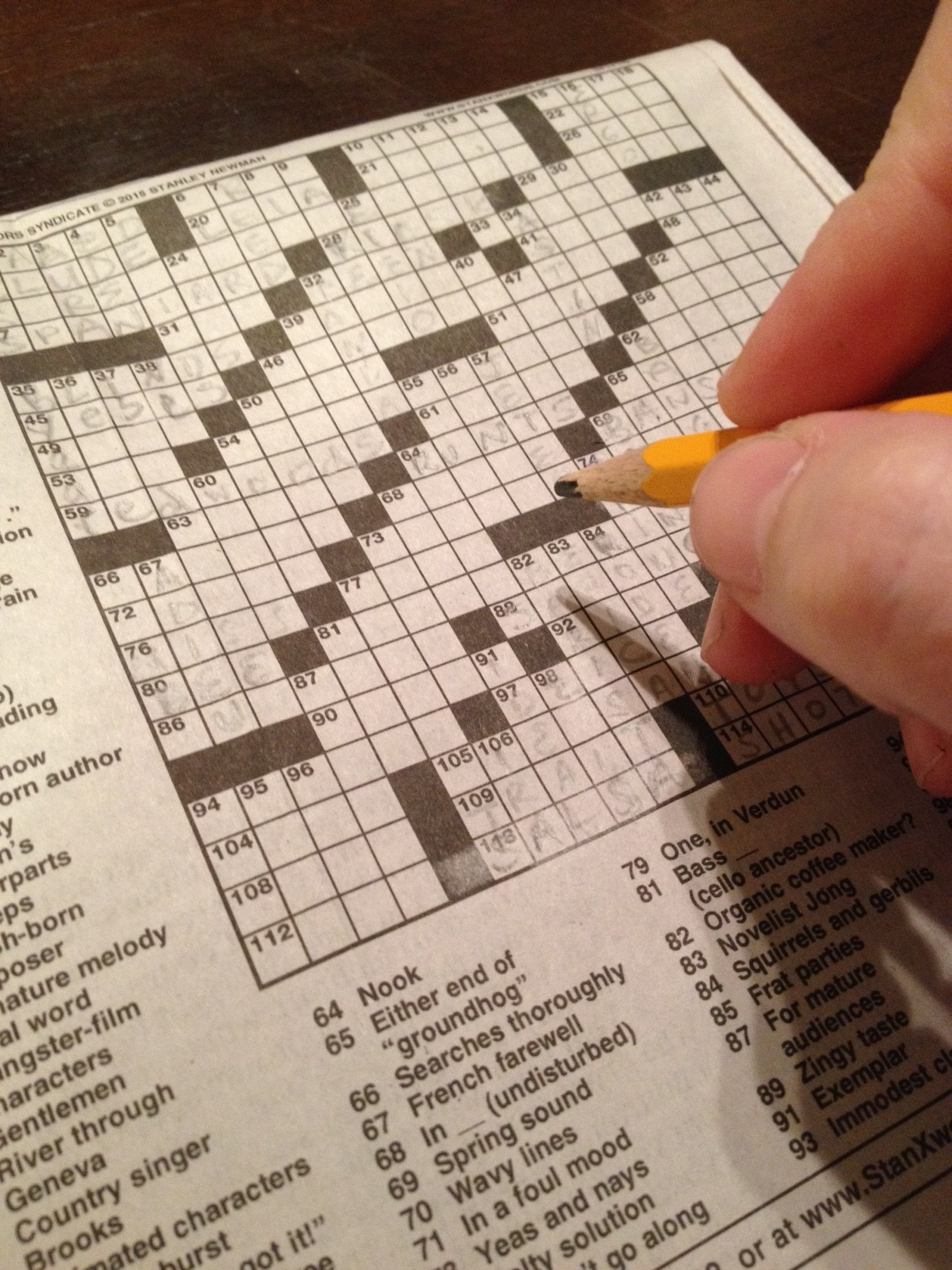 Blessings: Crossword Puzzles (Day 12)