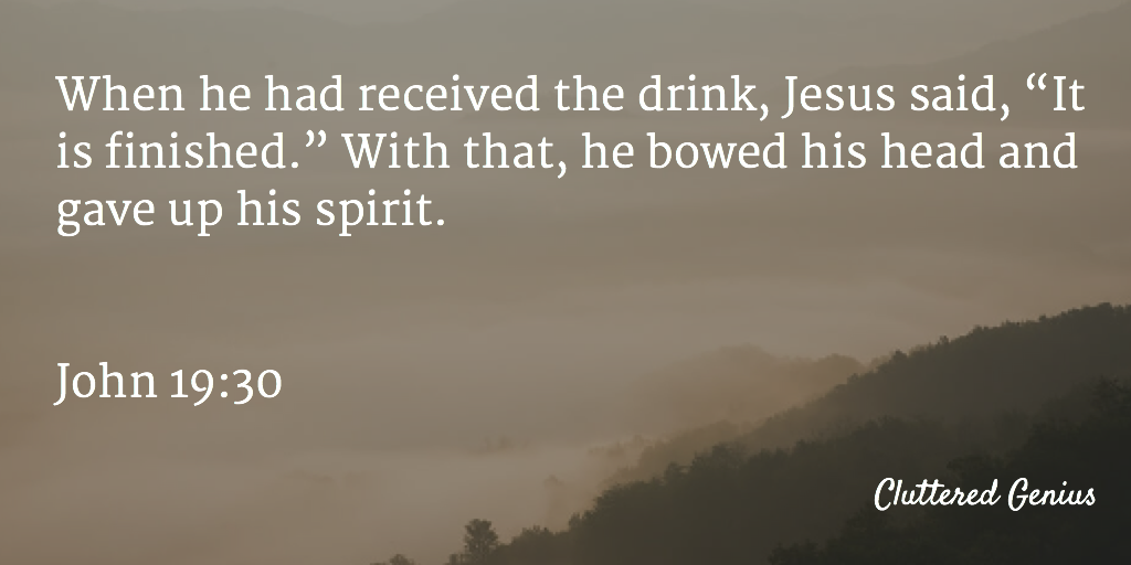 Blessings: His Saving Grace (Day 39)