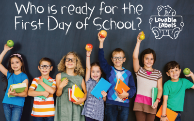 Lovable Labels First Day of School Contest