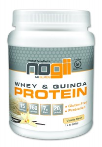 NoGii Whey & Quinoa Protein Powder (Giveaway)