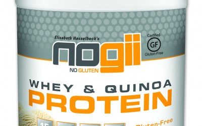 NoGii Whey & Quinoa Protein Powder (Giveaway)