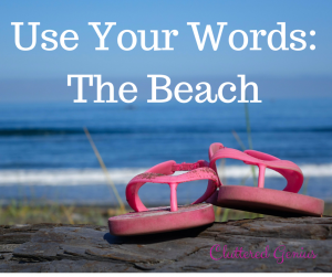 Use Your Words: The Beach