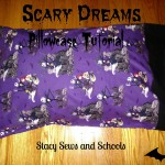 scary dreams pillowcase