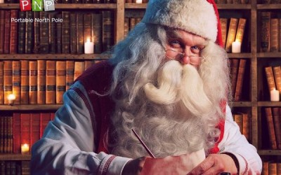 Make Christmas Magic with the Portable North Pole!