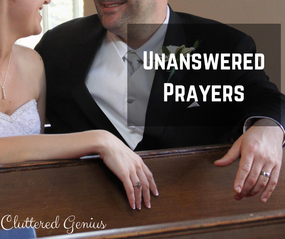 U: Unanswered Prayers #AtoZChallenge