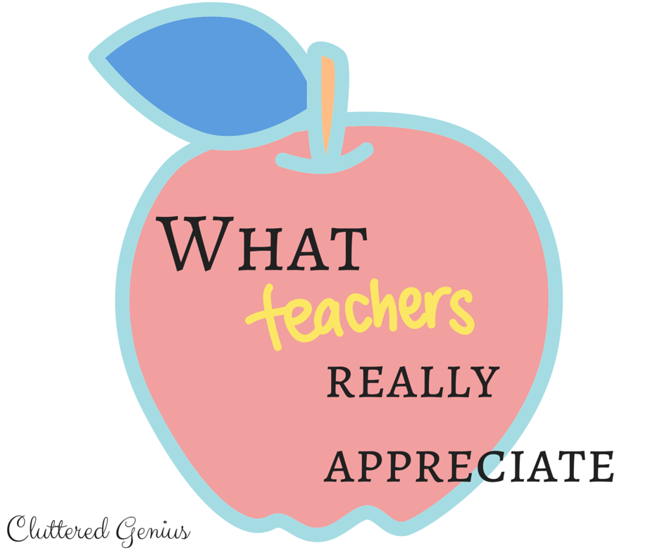 What teachers appreciate