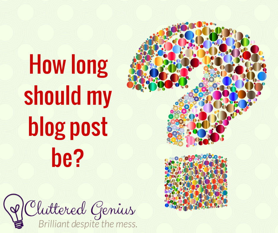 how long blog post CG