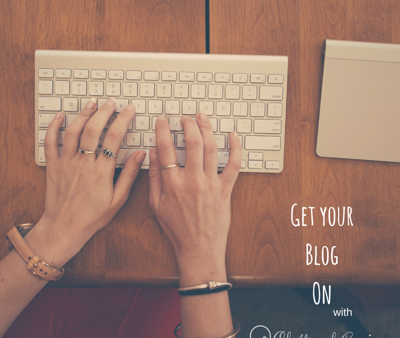 Join the Get Your Blog On: Writing Workshop