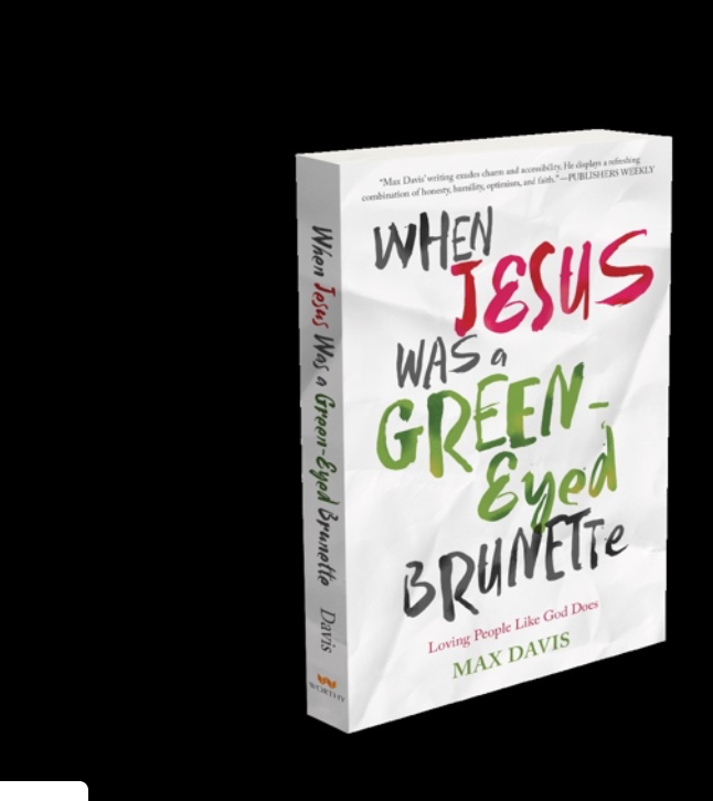When Jesus was a Green-Eyed Brunette (Giveaway)