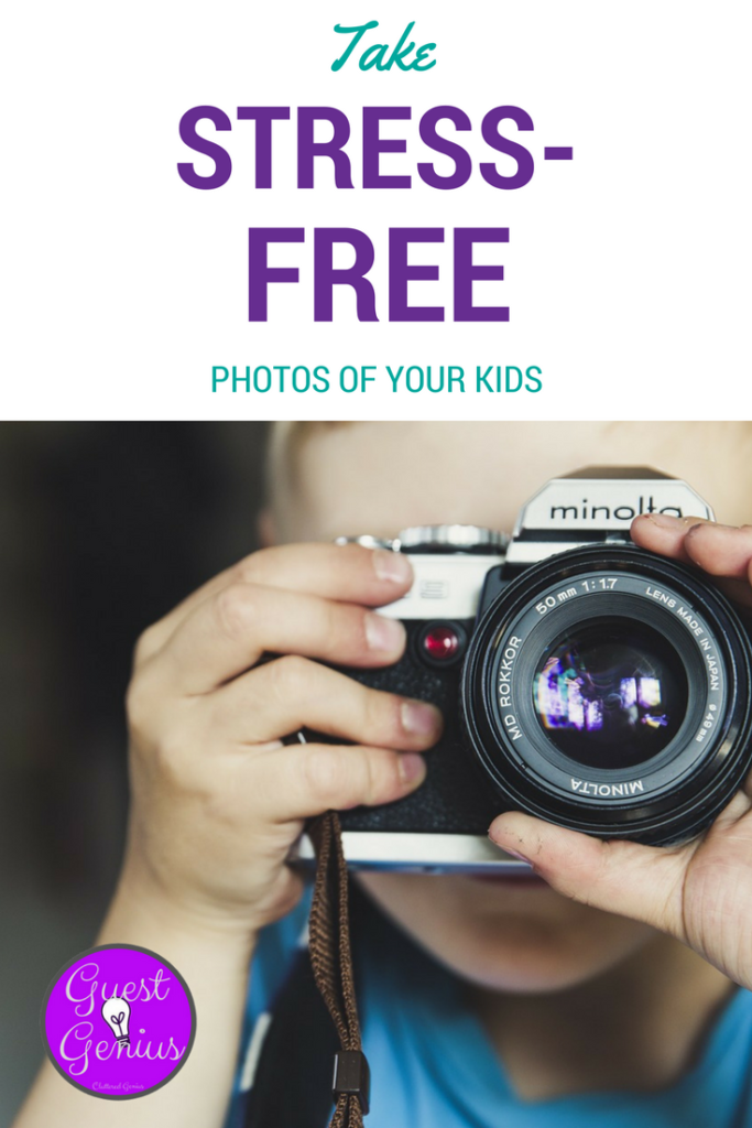 stress free photos for kids PIN