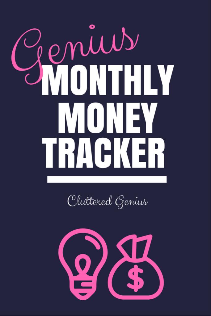 Genius Monthly Money Tracker free download