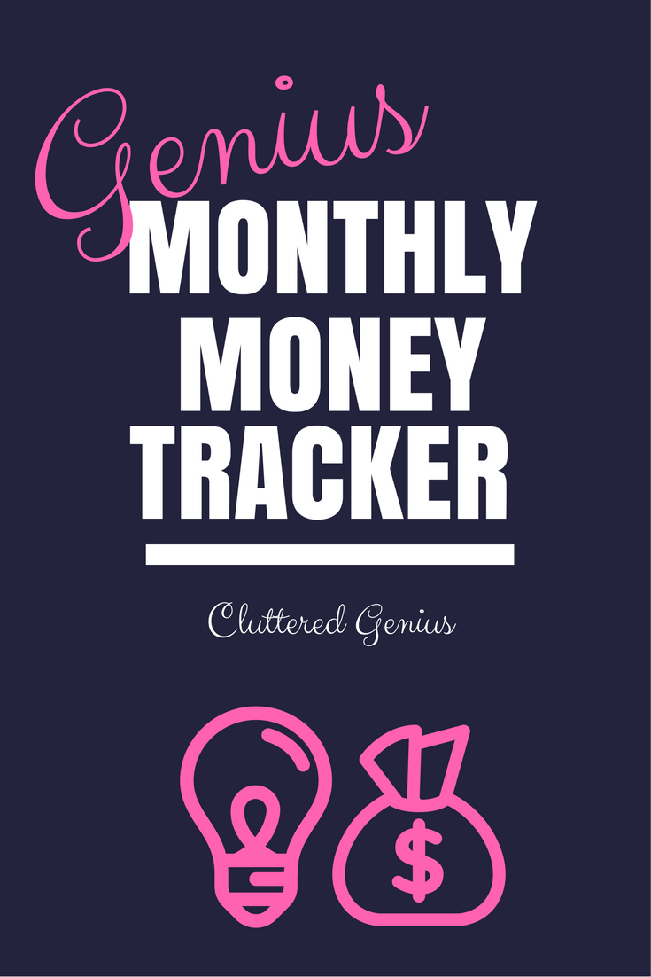 Genius Monthly Money Tracker free download