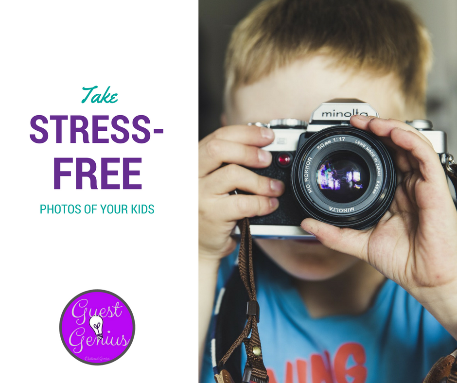 Take Stress-Free Photos of Your Kids