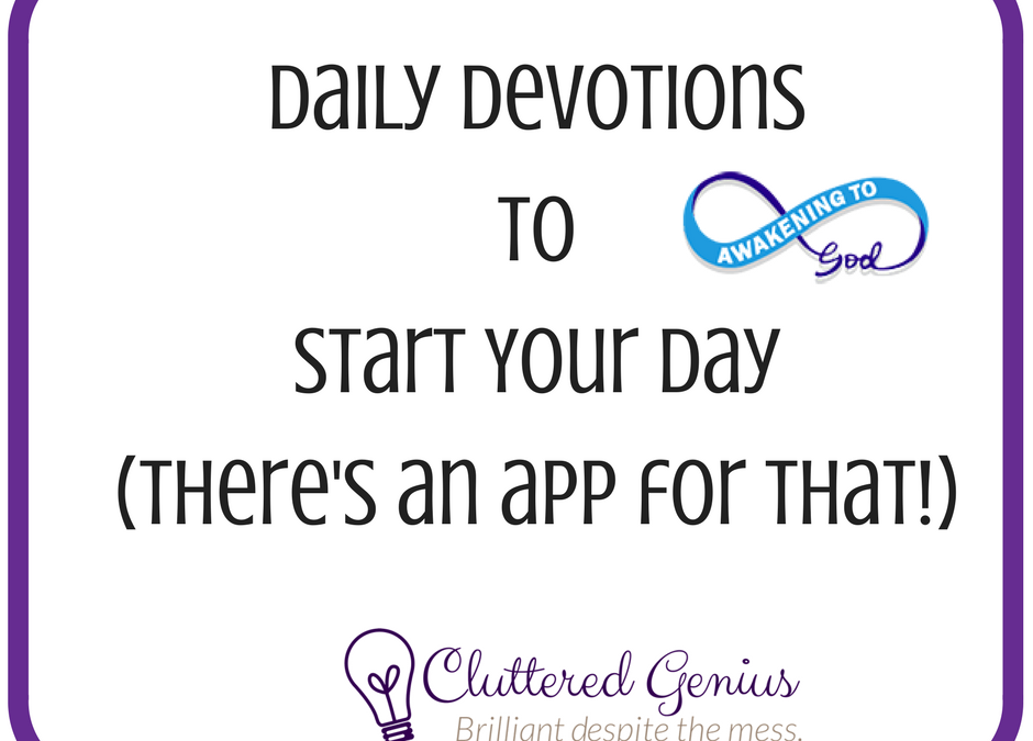 Daily Devotions to Start Your Day
