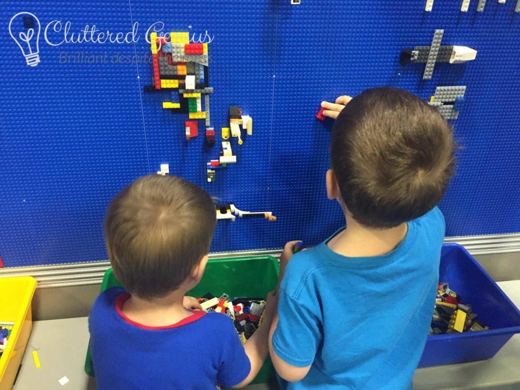 Lego Brickfest Wall
