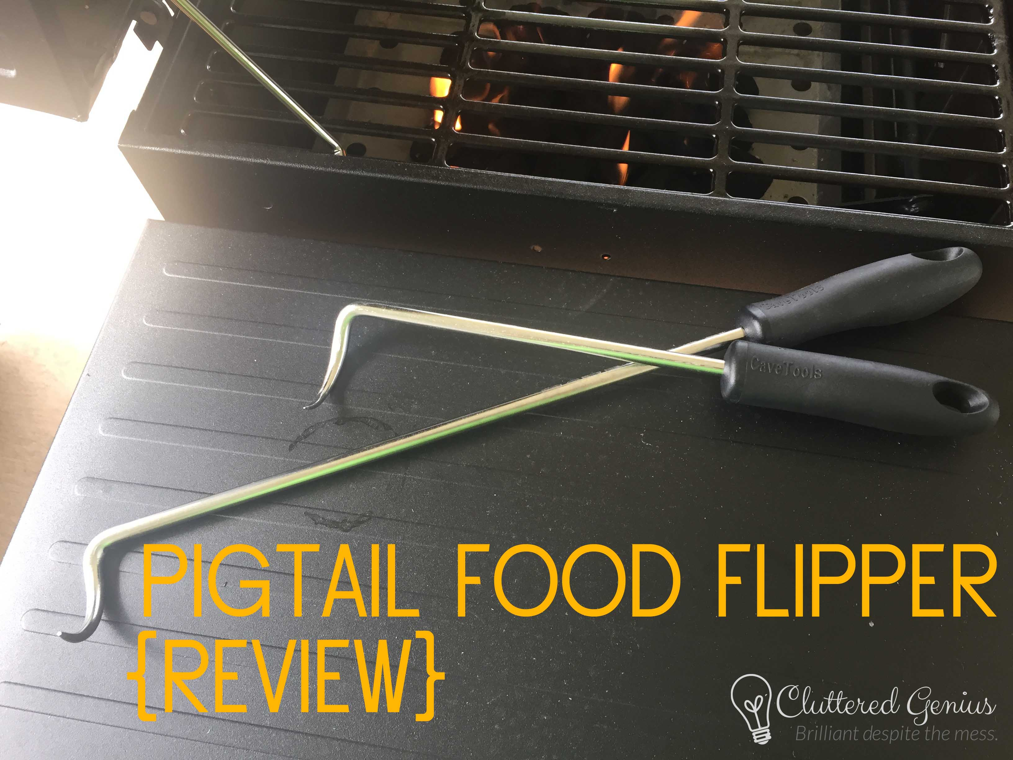 Pigtail Food Flipper from CaveTools (Review)