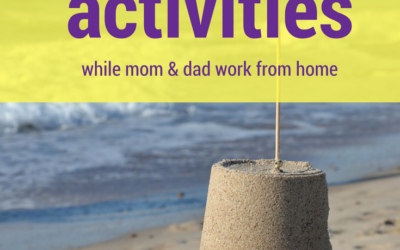 Non-screen summer activities