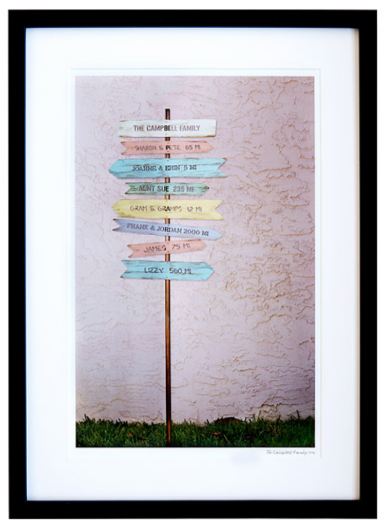uncommon goods signpost