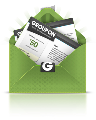 groupon envelope