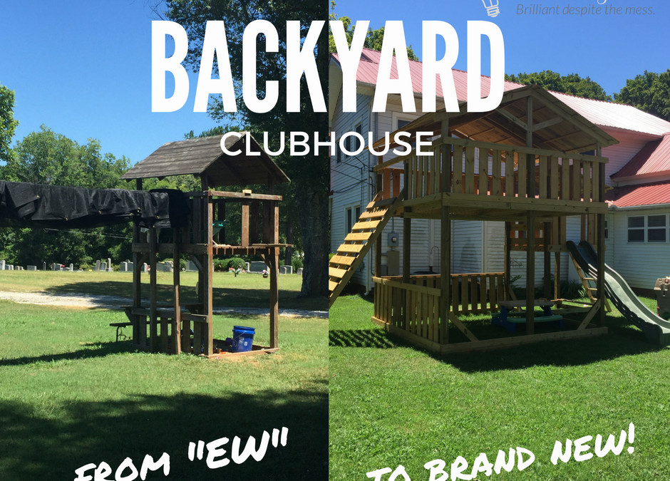 DIY Backyard Clubhouse
