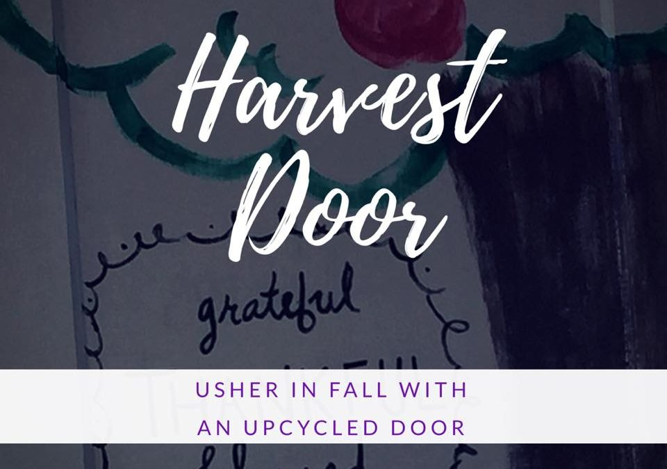 DIY Harvest Door