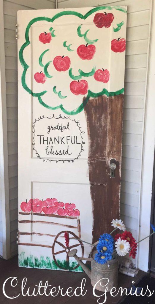 harvest door complete