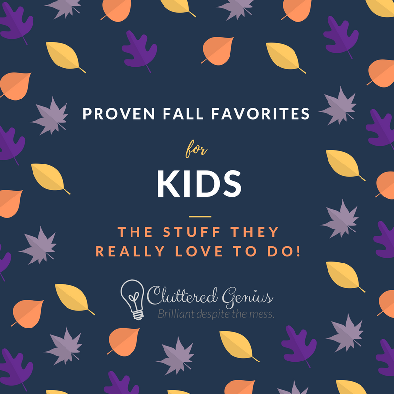 fall favorites for kids