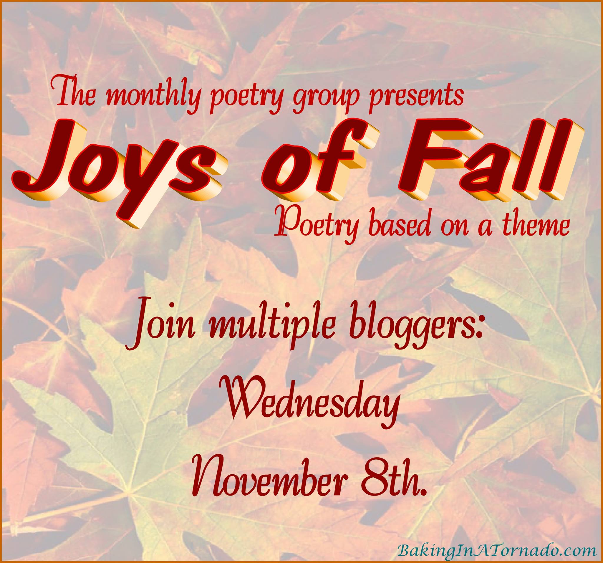 joys of fall poetry linkup image