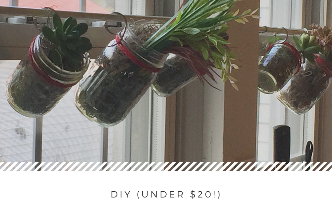 DIY Window Garden