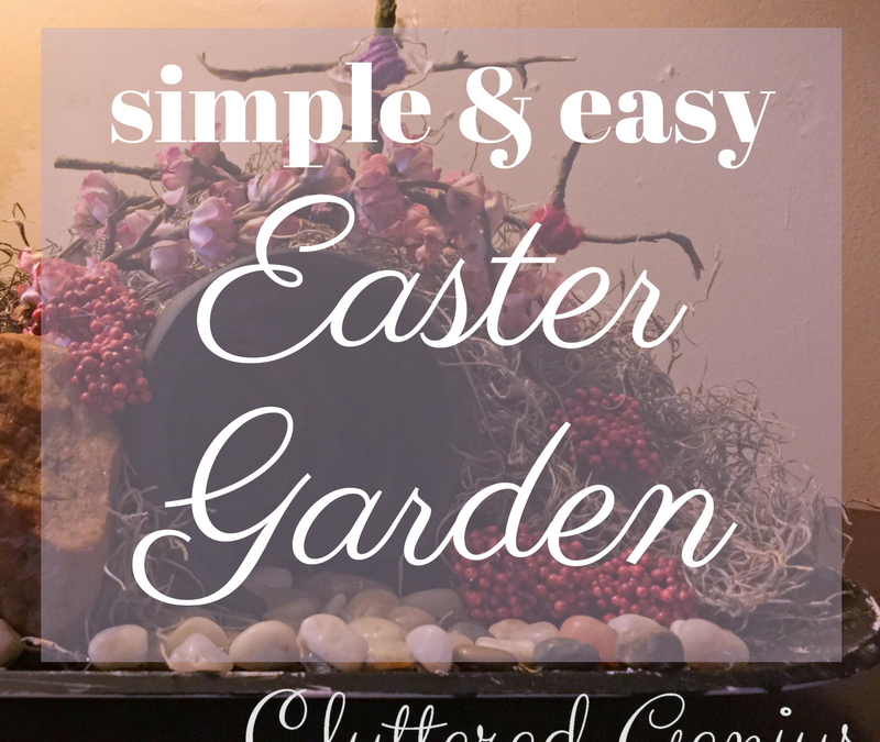 Simple Easter Garden