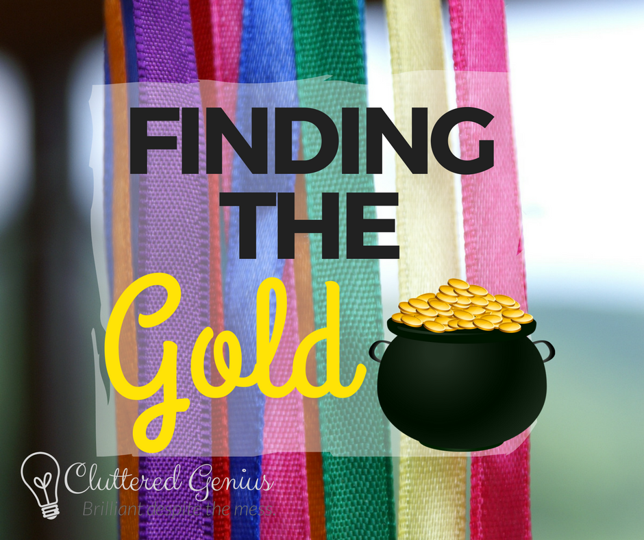 finding the gold icon