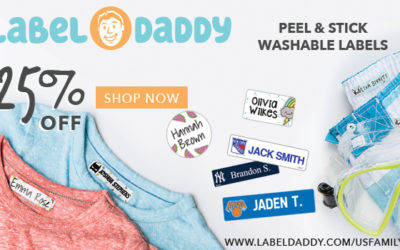 Label Daddy Summer Camp Labels