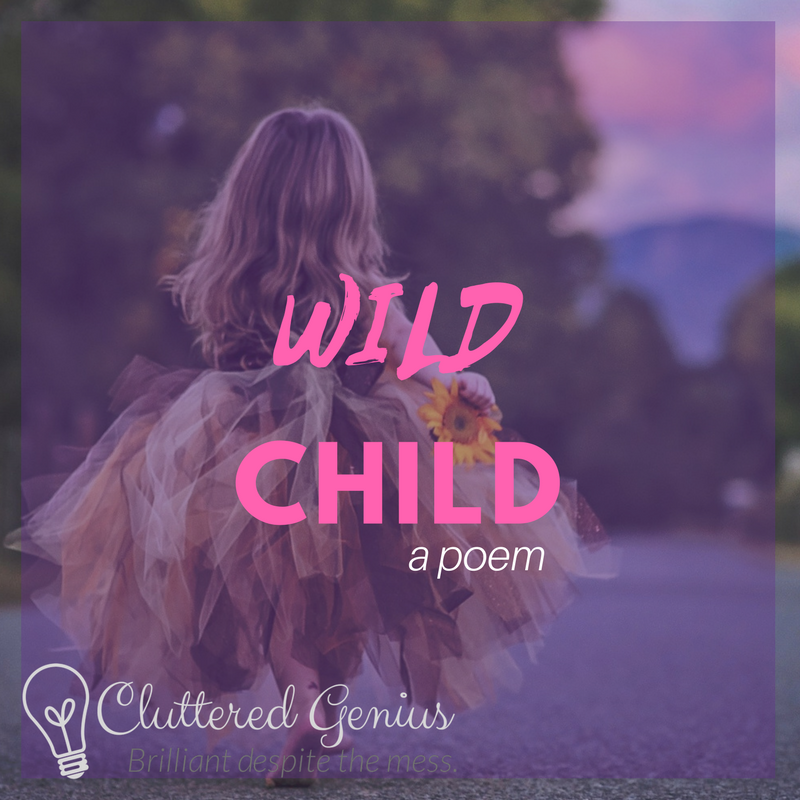 wild child poem image
