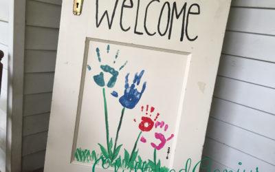 Children's Garden: DIY Upcycled Door
