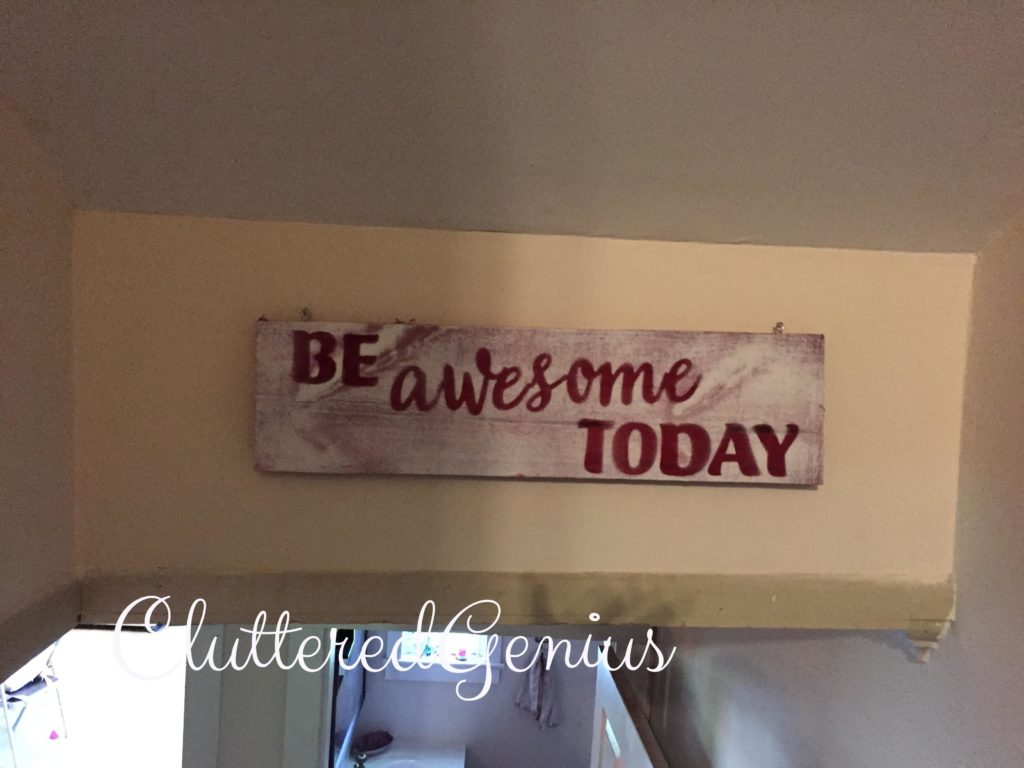 be awesome today completed