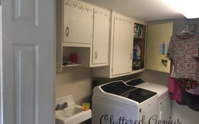 Easy (on-a-budget) Laundry Room Update