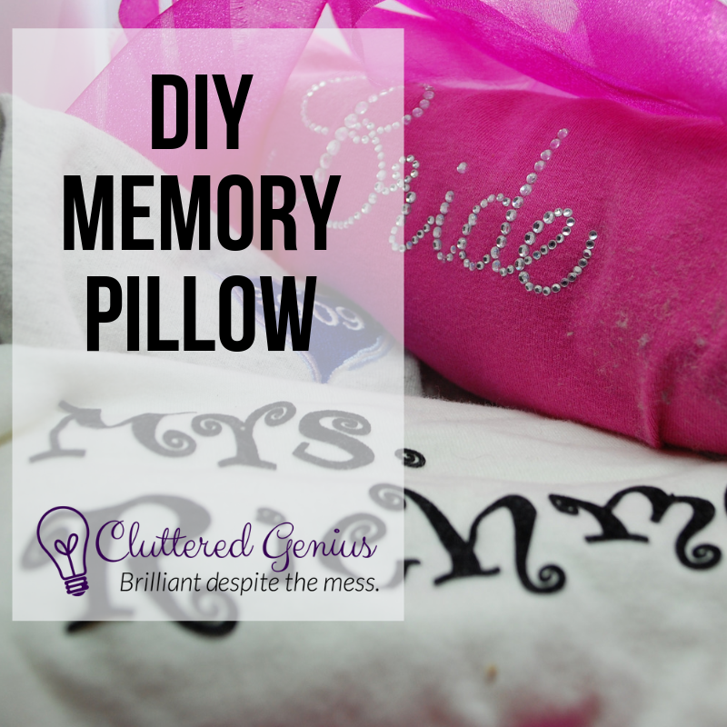 DIY Memory Pillow