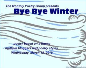 bye bye winter poetry group image