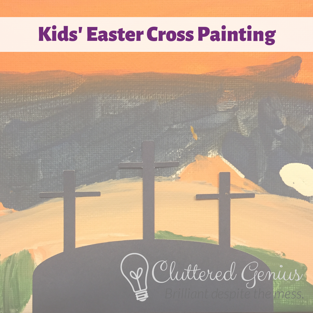 Kids' Easter Cross Painting
